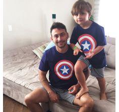 Pijama-infantil-Capitao-America