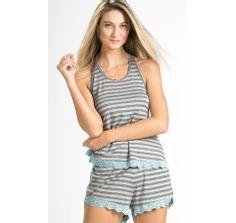 pijama feminino de modal 8190 mixte