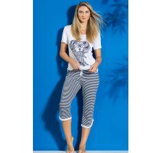 8176 pijama pescador, feminino de verão