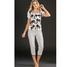 8266 pijama feminino mixte