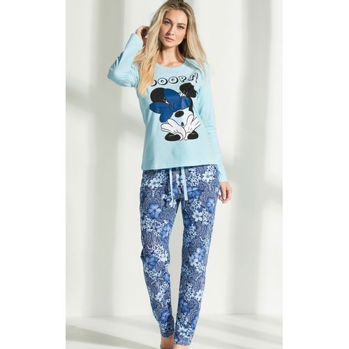 8510 pijama feminino minnie