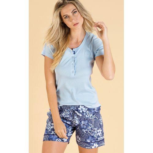 8402-D pijama feminino mixte modelo