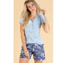 8402-pijama feminino mixte modelo