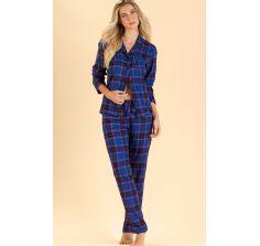 Pijama de inverno mixte xadrez 8440