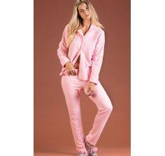 8445-pijama feminino de inverno modelo