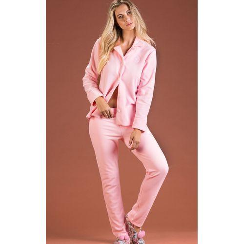 8445- pijama de inverno feminino