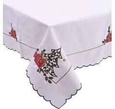 toalha de mesa arvore natal