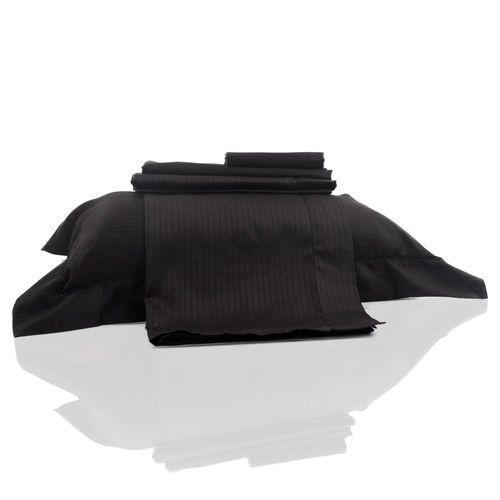 lençol damask preto