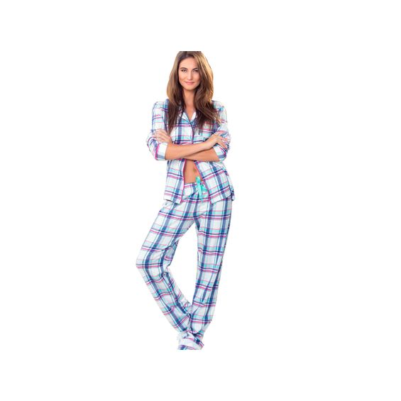 Pijama-Mixte-7515-Xadrez-Marlene-Enxovais