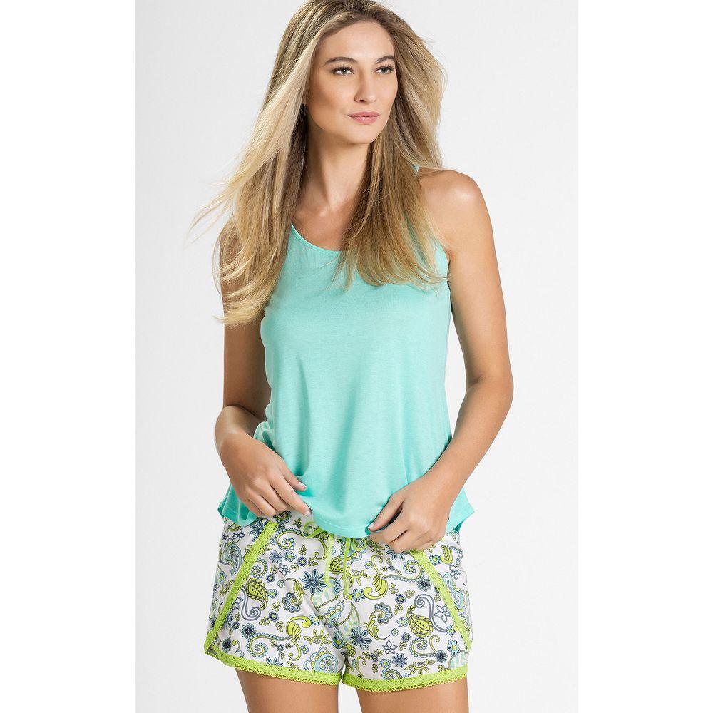 8185 pijama feminino mixte