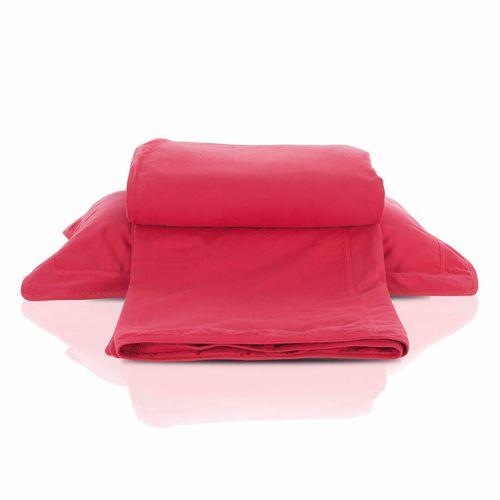 capa de edredom jeans pink