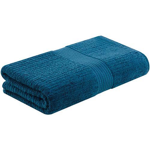 Toalha-de-banho-fio-penteado-canelado-Azul-claro