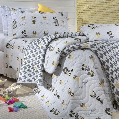 Jogo de cama Minnie