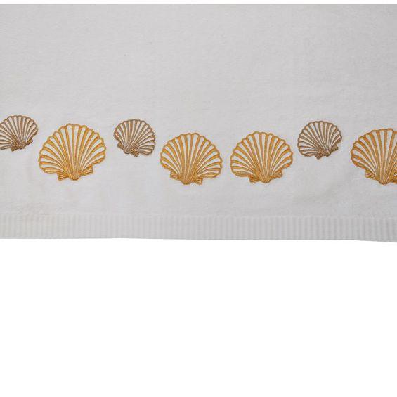 Detalhe-toalhas-de-banho-Conchas-dourada