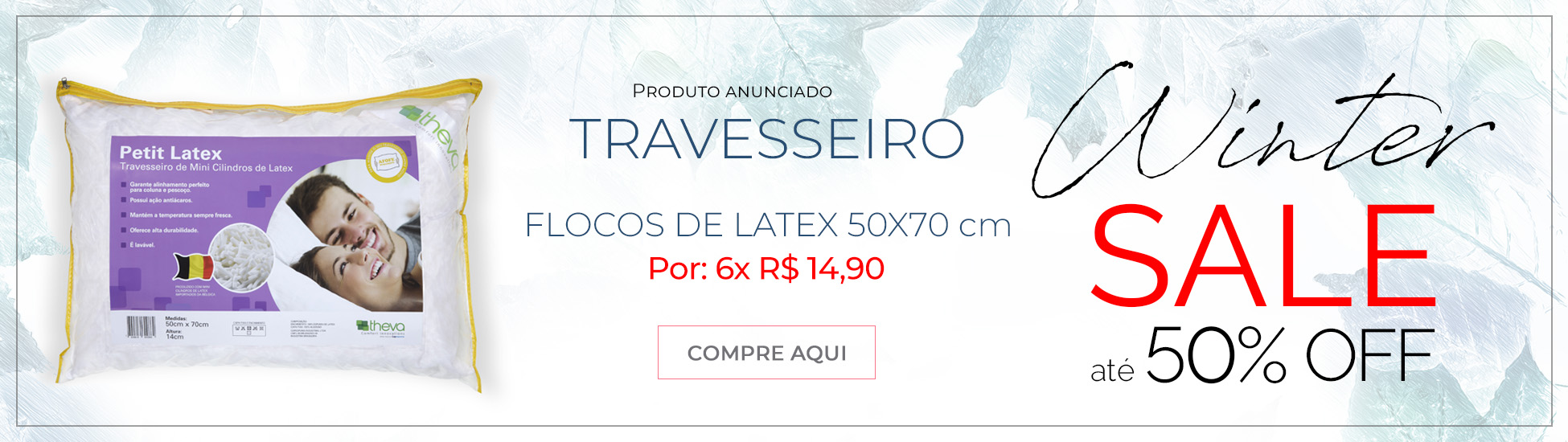 Winter Salle Travesseiros