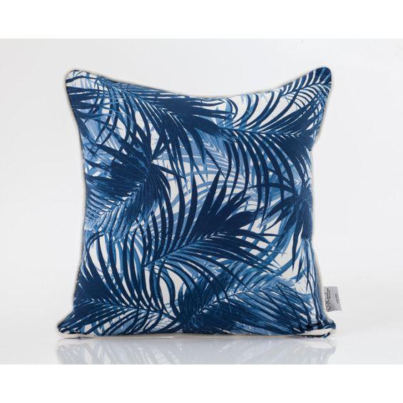 Almofada-de-linho-Azul-quadrada