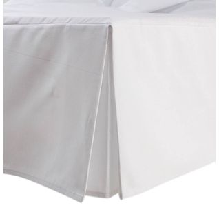 Saia de Pique para cama Box Branca