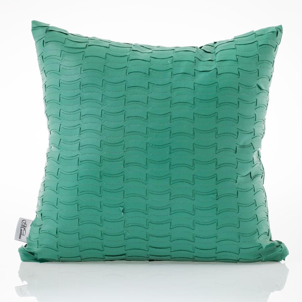 Almofada-de-couro-Verde