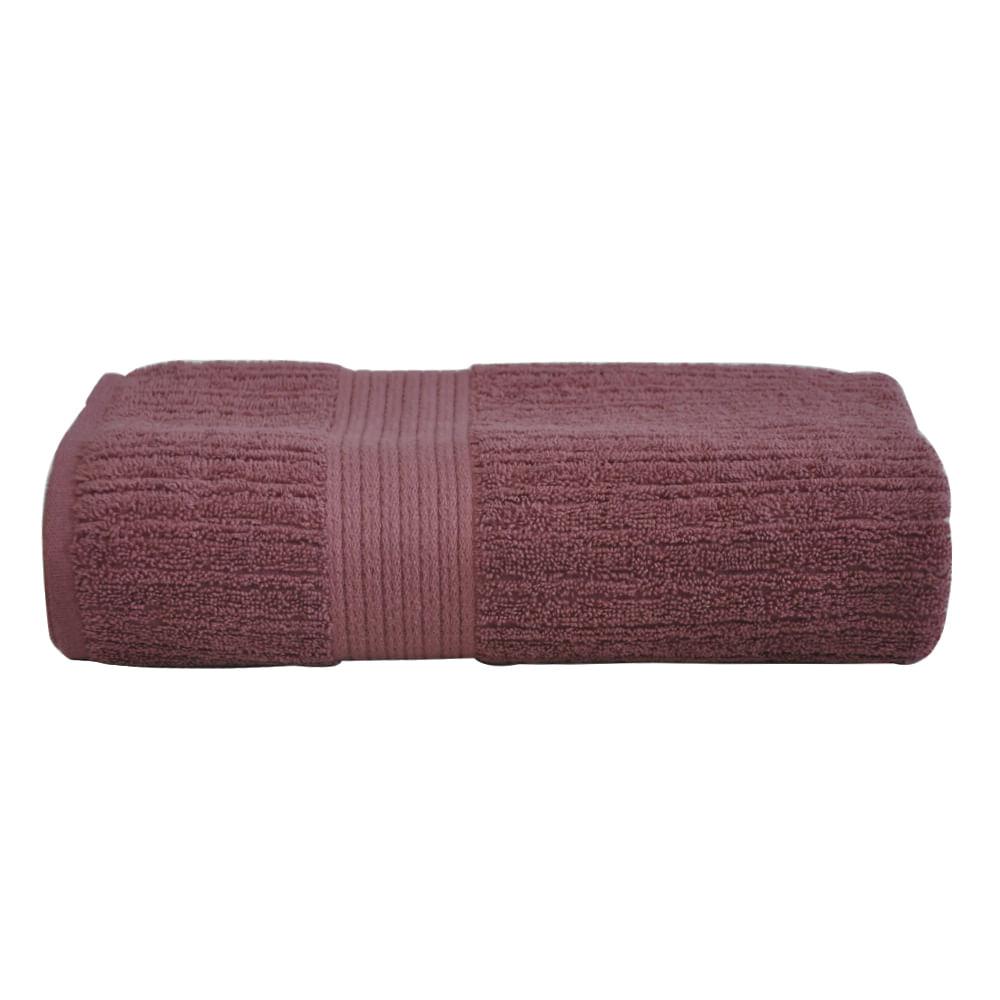 Toalha-de-banho-Fio-penteado-canelada-Vinho