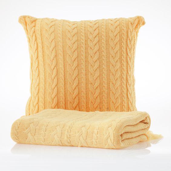 Manta-de-tricot-amarelo