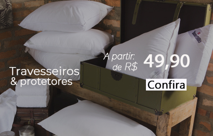 Travesseiros e Protetores Desk