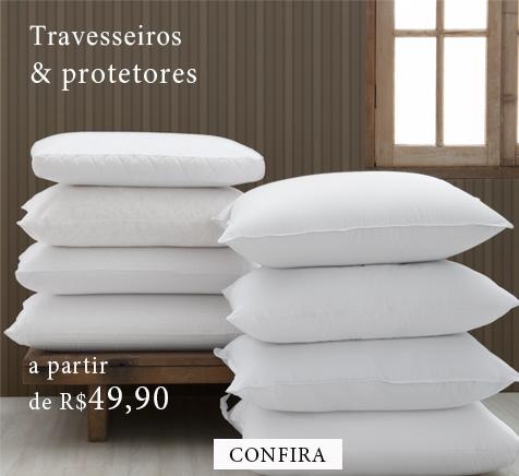 Travesseiros e Protetores