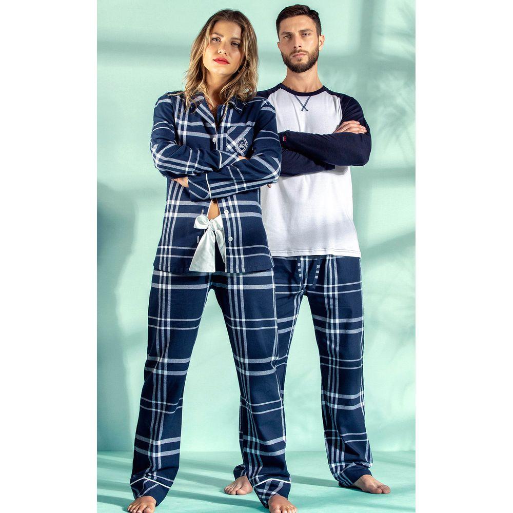 Pijama-Mixte-Xadrez-9299-