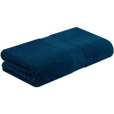 Toalha-de-Banho-Fio-Penteado-Canelada-Azul-Marinho