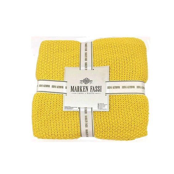 Manta-de-tricot-amarela-marken-fassi-amarela