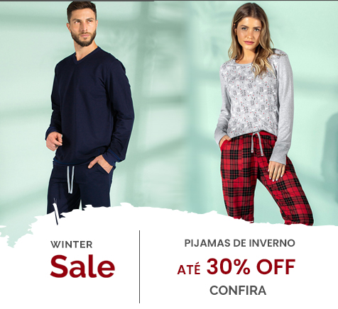 Winter Sale Pijamas de Inverno