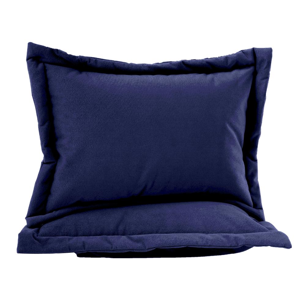 Porta-Travesseiro-de-Camurca-Azul-Marinho