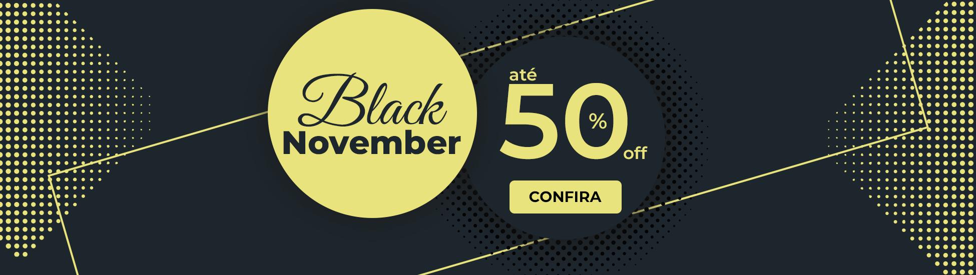 Banner Black November