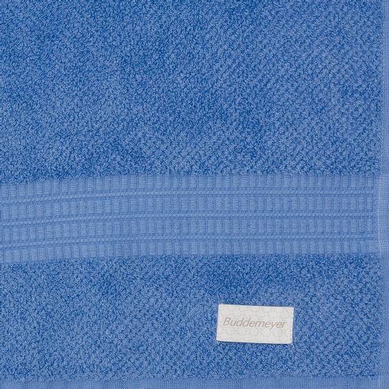 Detalhe toalha de banho frape azul