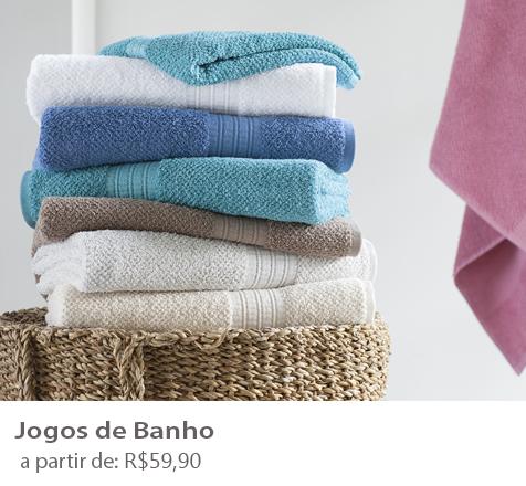 Banner jogo de banho
