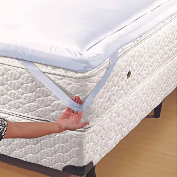 Pillow-top-lile-blanc