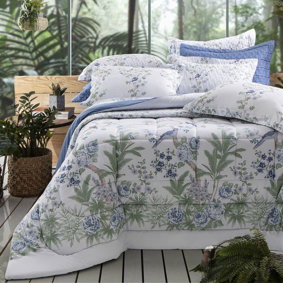 Cama-malay-azul