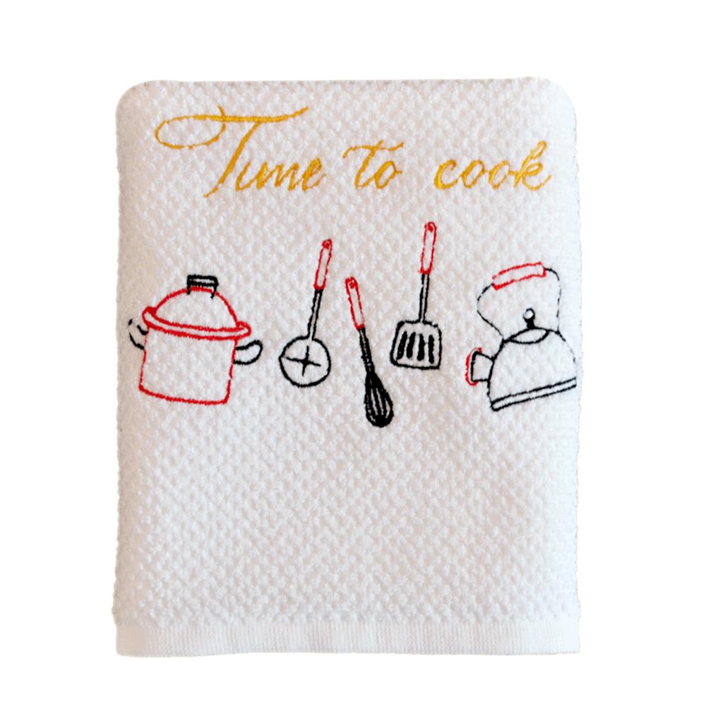 Pano-de-copa-bordado-Time-coffe