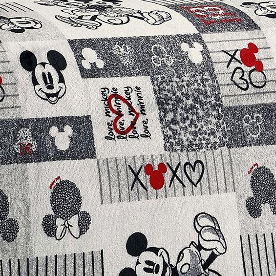 Manta-flannel-mickey-e-minnie-detalhe
